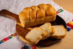 Pâine de casă împletită image