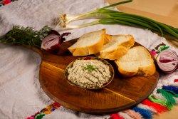 Salată de vinete + Pâine de casă image