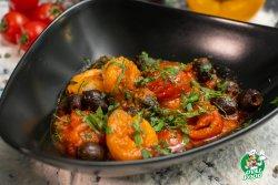 Gamberi aglio olio peperoncino image