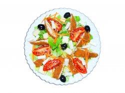 Salată cu pui - șnițel - image