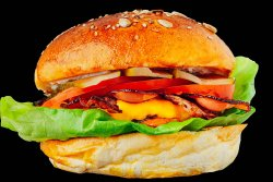 30% REDUCERE: Bacon&Cheese Burger image