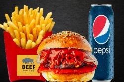 Meniu BloodyMerry Burger image
