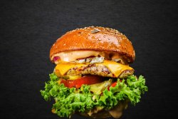 30% REDUCERE: Chicken Passion Burger image