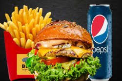 Meniu Chicken Passion Burger image