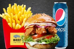 30% REDUCERE: Meniu Crispy Burger image