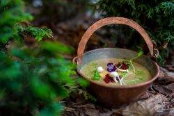 Supă cremă de ciuperci de pădure image