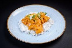 Curry de pui cu orez basmati image