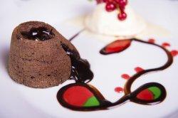 Souffle de ciocolată amedei image