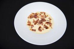 Supă crema de cartofi cu bacon image
