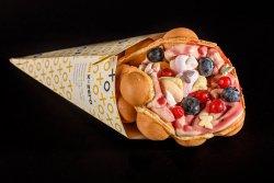 Bubble waffle FOREST CREAM image