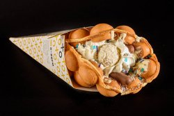 Bubble waffle RAFFAELLO image