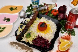 Kubideh kabab image