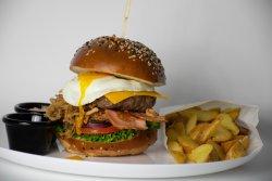 Eggstraordinary Burger image