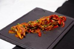 Carne de pui cu legume în stil indian image