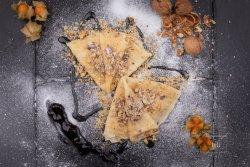 Clătite cu miere și nucă/ dulceață/ finetti și banane image
