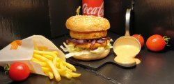 Meniu Camembert - PIU Burger image