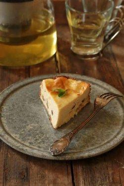 Tartă cu brânză dulce și stafide image