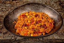 Orez cu legume în stil mexican image