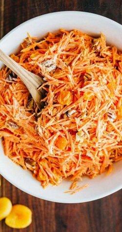 Salată de morcovi cu țelină șI măr image