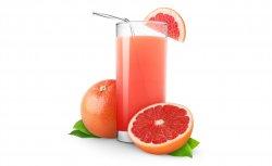 Fresh grapefruit image