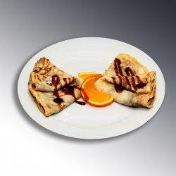 Clatite cu ciocolată / Pancakes with chocolate image