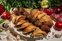 Meniu libanez aperitiv cald image