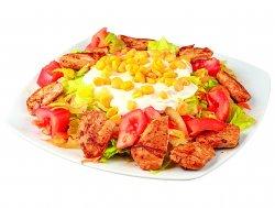 Salată cu frigărui de pui image