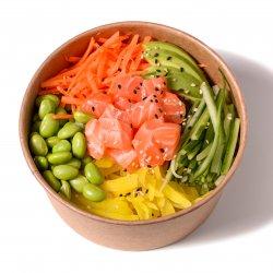 Salmon bowl image