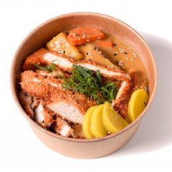Curry chicken bowl image