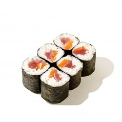 Salmon tuna maki image
