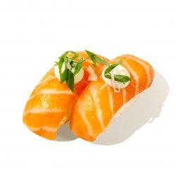 Salmon mayo nigiri image