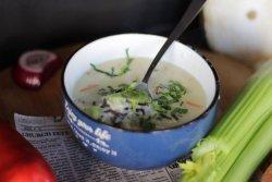 1+1 gratuit: Supă cremoasă de pui cu orez image