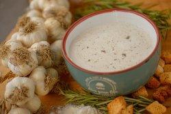 Supă cremă de usturoi copt image