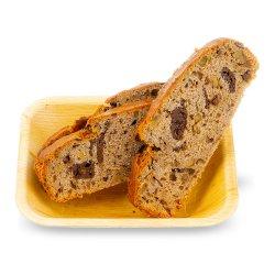 Banana bread cu fulgi de ciocolată image