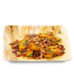 Cartofi țărănești cu bacon și ceapă roșie image