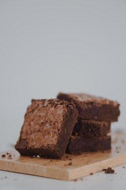 Fudgy brownie image