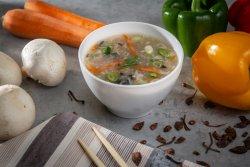 Supă de pui cu ciuperci image