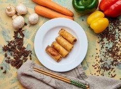 Pachețele cu creveți (de post)+sos sweet chili image