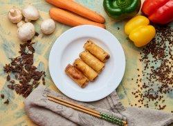 Pachețele cu creveți (de post) + sos sweet chili image