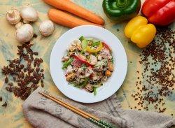 Salată cu fructe de mare (de post) image