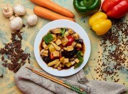 Tofu cu legume (de post) image