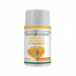Omega 3 ulei de peste 500 mg + Vitamina E 5mg, 60 capsule moi