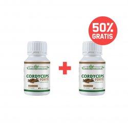 Pachet 1+50% Cordyceps Extract Forte 120cps