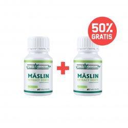Pachet 1+50% CADOU Măslin Extract Forte 180 capsule