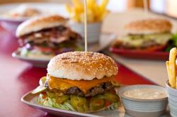 Cheese burger image