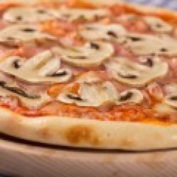 Pizza Party Prosciutto e Funghi