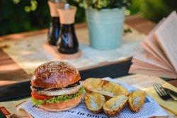 Chicken Burger burger menu image