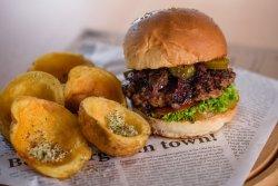 50% reducere Jalapeno Cheesburger with bacon burger menu image