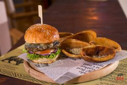 What a baz! burger menu image