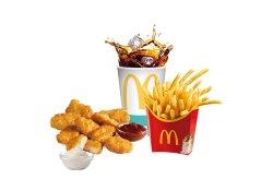 Meniu Chicken McNuggets™ (9 buc.) include  2 sos Maxi image